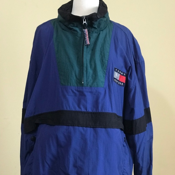1b30fd9a5 Tommy Hilfiger Jackets & Coats | Vintage 90s Athletic Gear Pullover ...